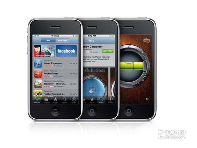 苹果iPhone3GS(联通版8GB)产品本身外观第6张