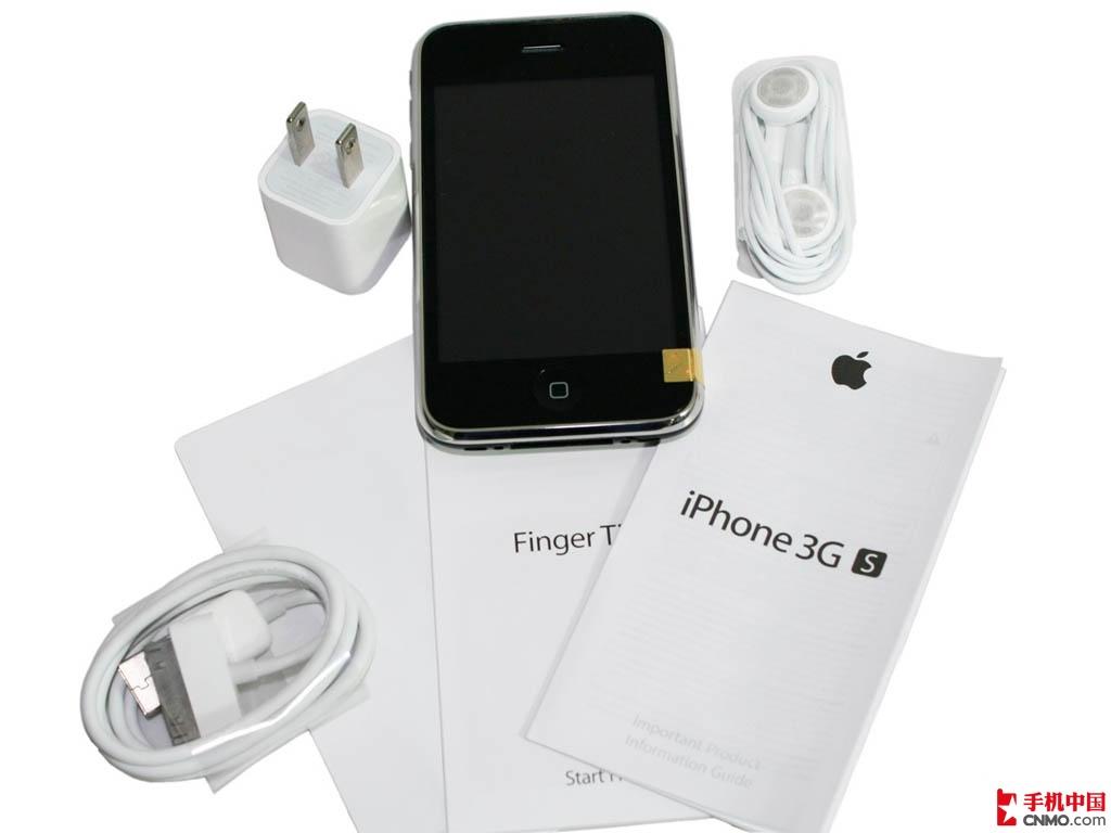 苹果iPhone3GS(8G)整体外观第8张