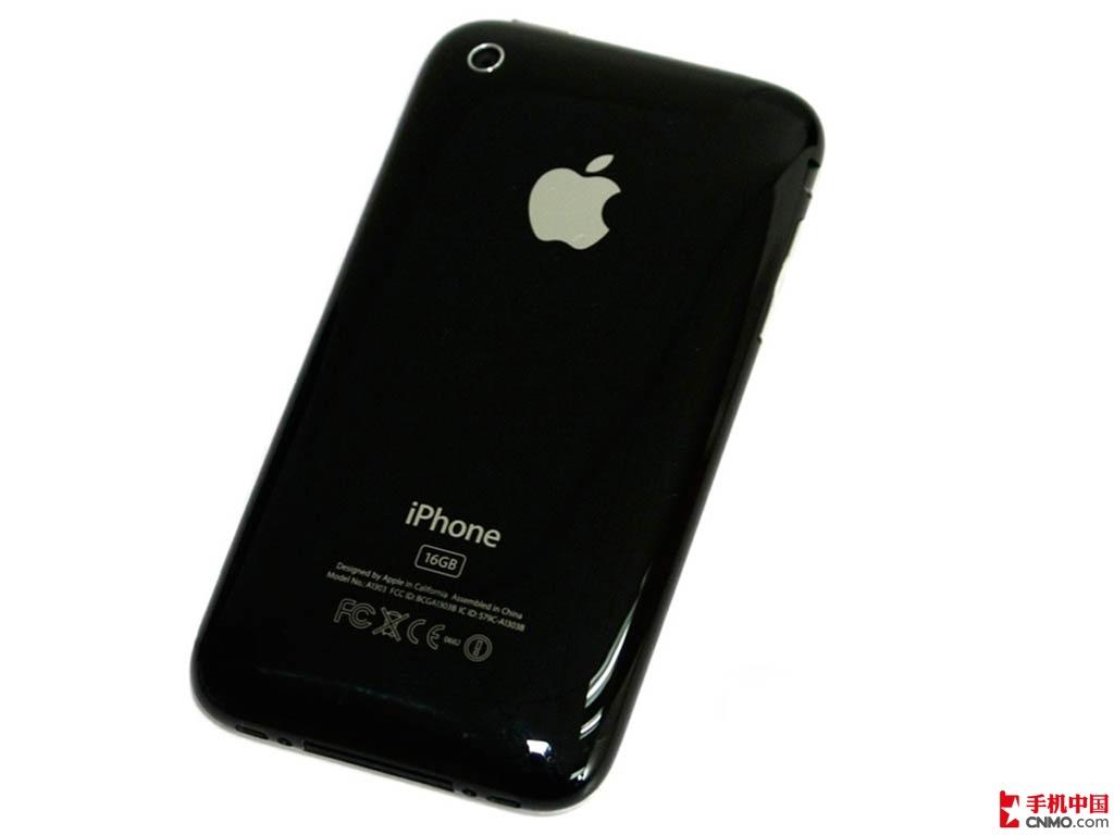 苹果iPhone3GS(8G)整体外观第2张