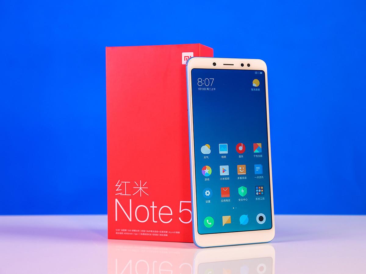 红米Note5(3+32GB)整体外观第5张