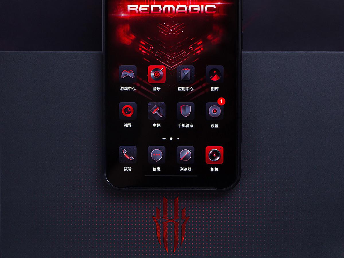 努比亚红魔3电竞手机(8+128GB)机身细节第8张