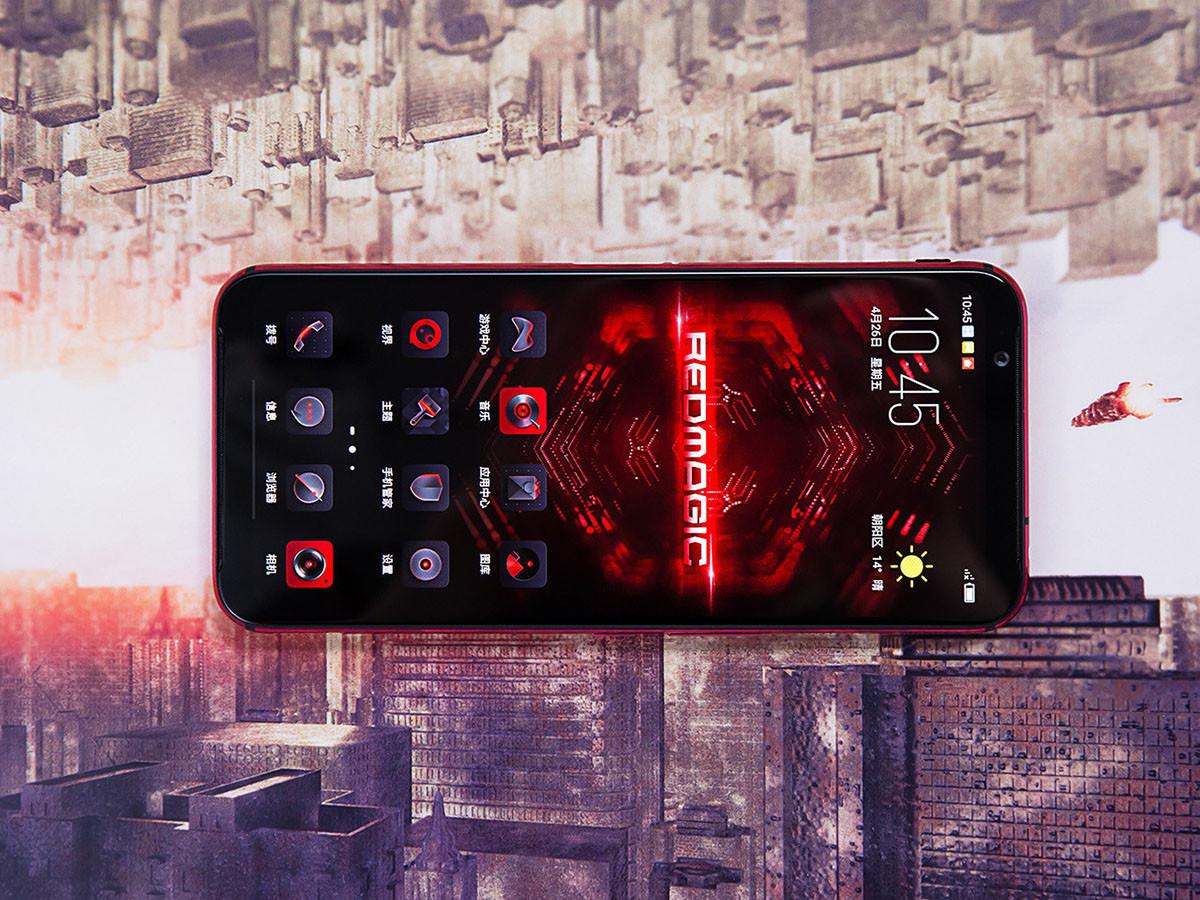 努比亚红魔3电竞手机(8+128GB)整体外观第3张