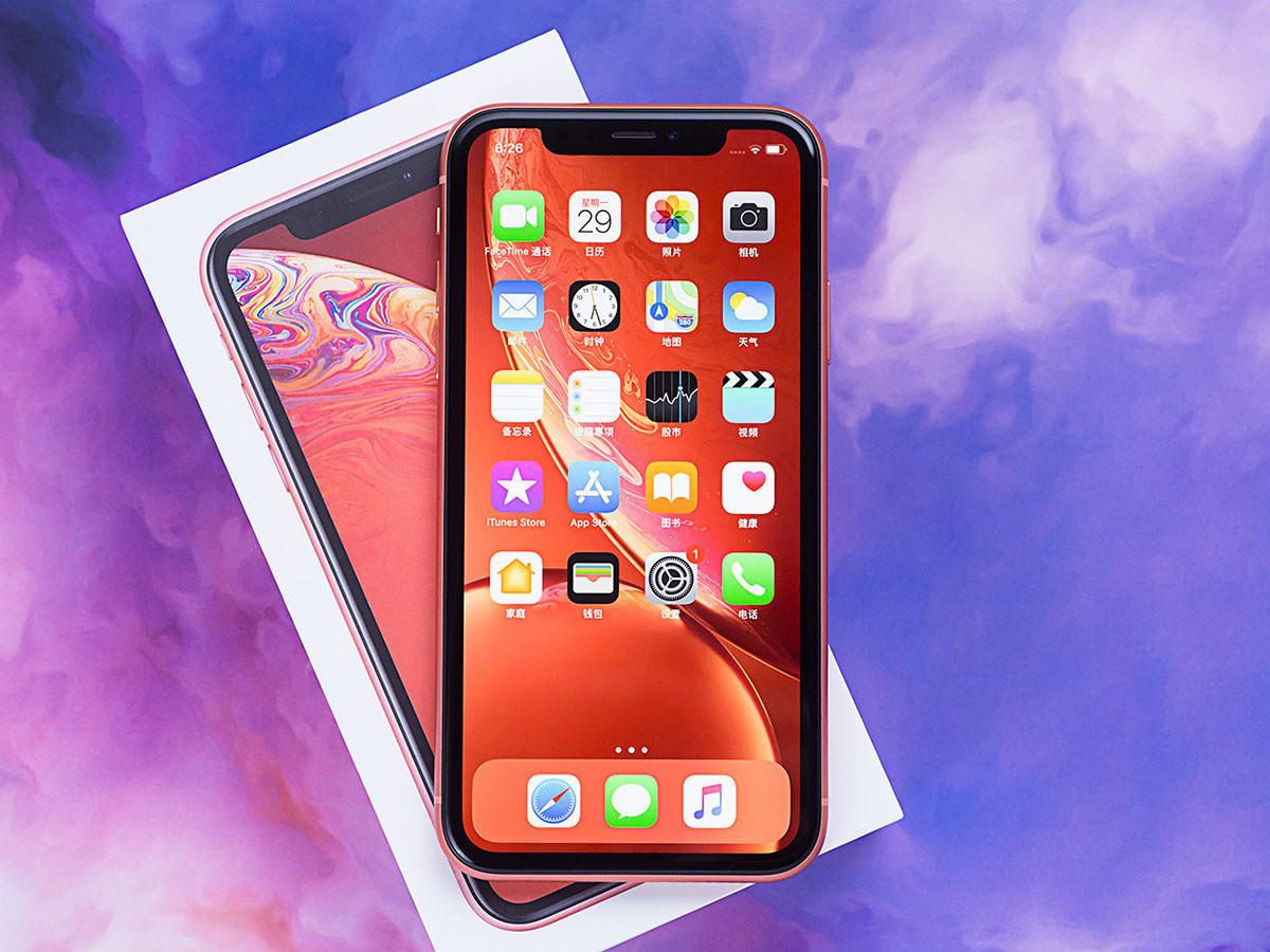 苹果iPhoneXR(256GB)整体外观第1张